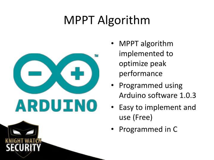 MPPT Algorithm