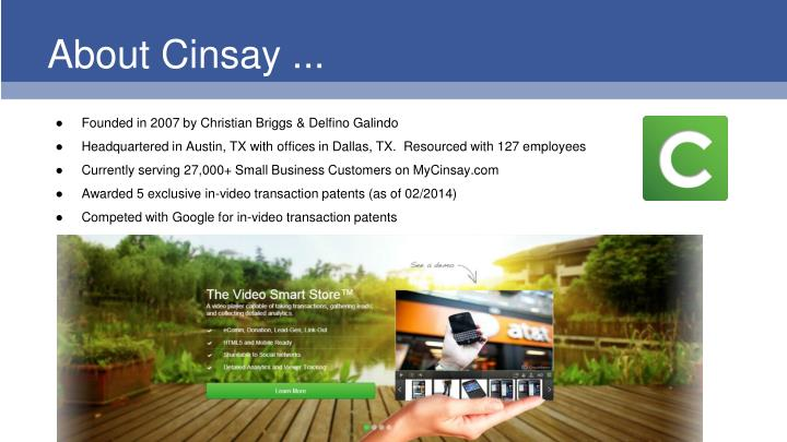About cinsay