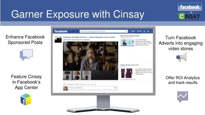 Garner Exposure with Cinsay