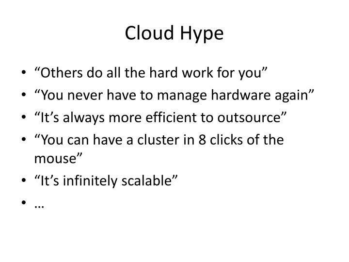 Cloud Hype