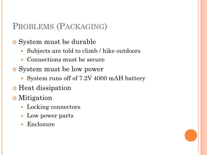 Problems (Packaging)