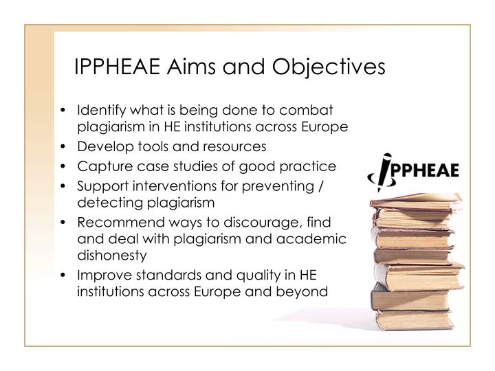 IPPHEAE Aims and Objectives