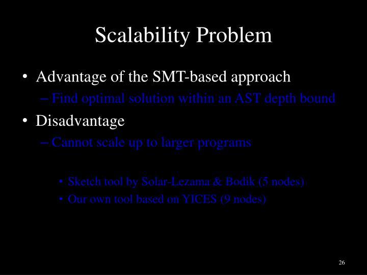 Scalability Problem