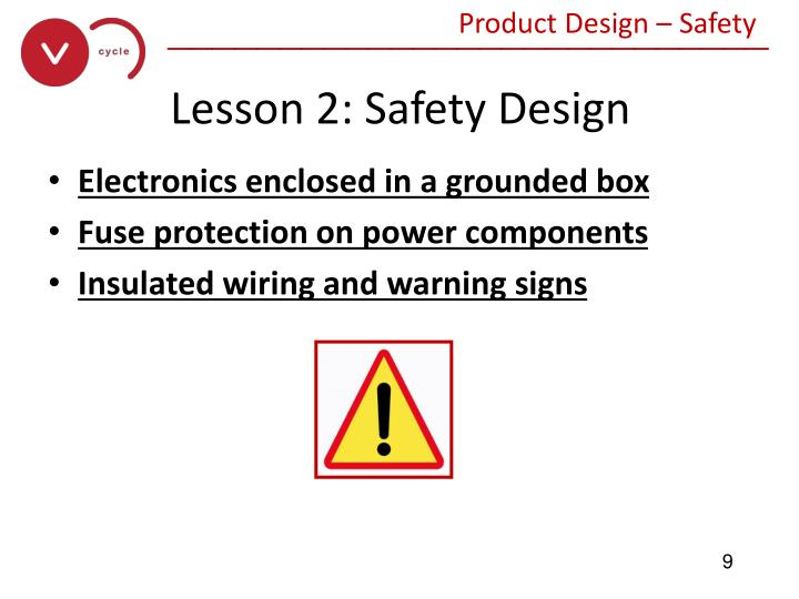 Product Design – Safety