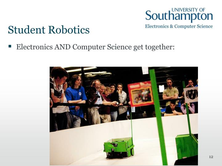 Student Robotics