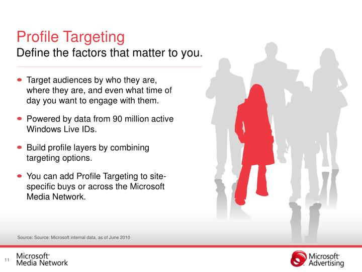 Profile Targeting