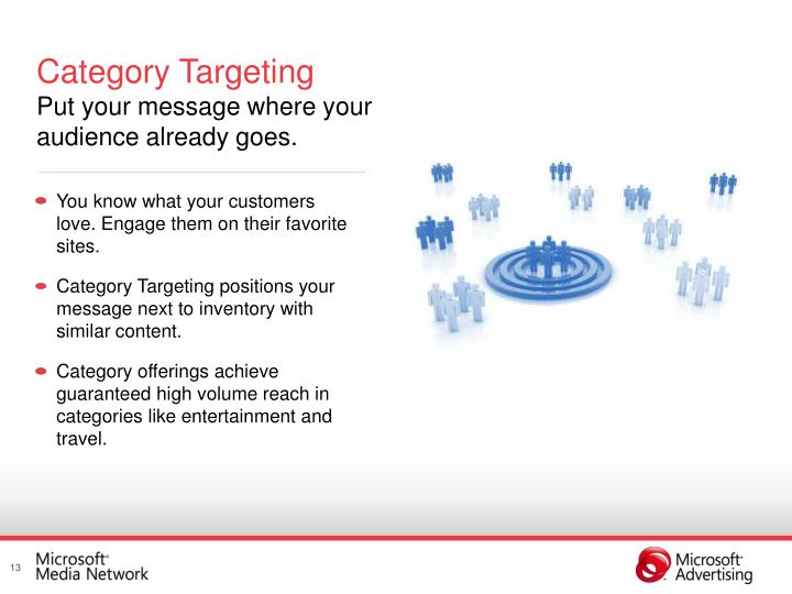 Category Targeting