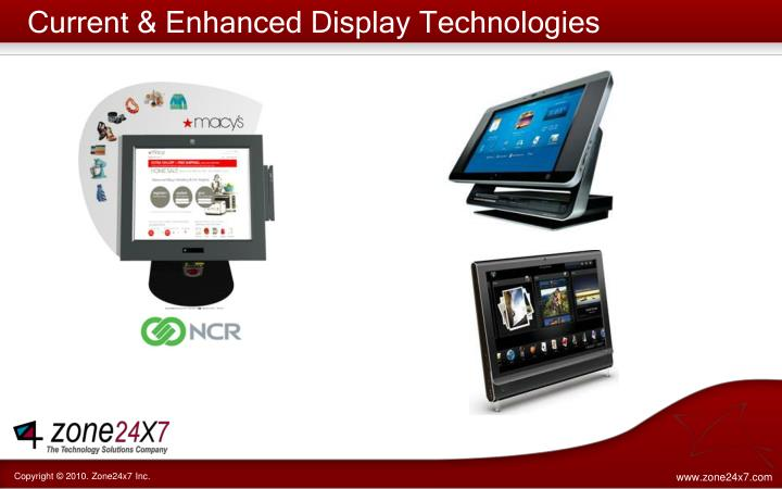 Current & Enhanced Display Technologies