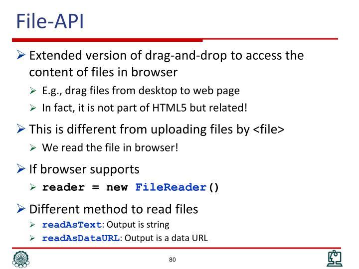 File-API