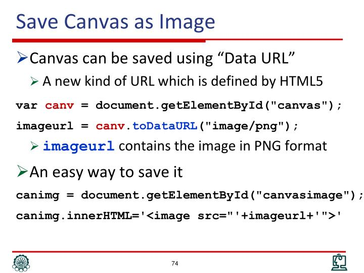 Save Canvas as Image