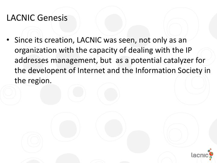 LACNIC Genesis
