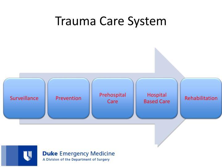 Trauma Care System