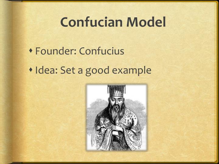 Confucian Model