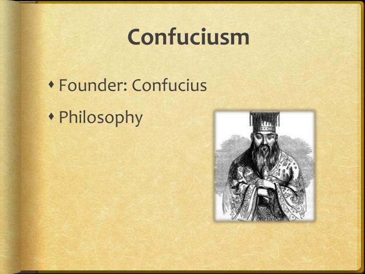 Confuciusm