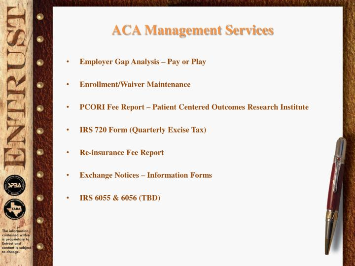 ACA Management Services