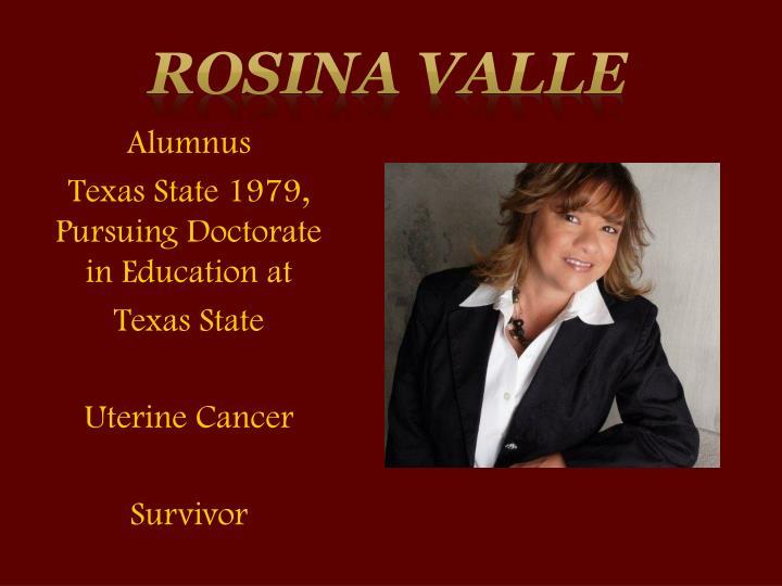 Rosina Valle