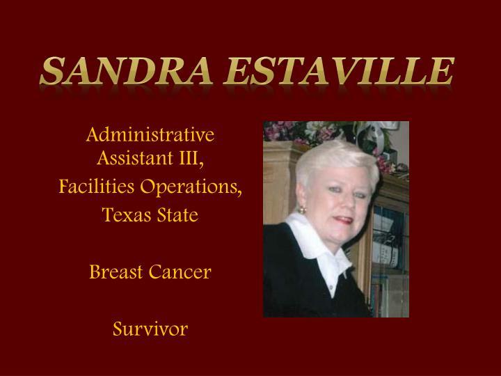 Sandra Estaville