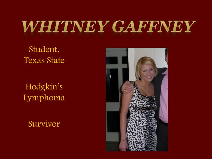 Whitney Gaffney