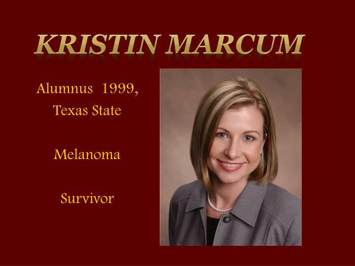 Kristin Marcum