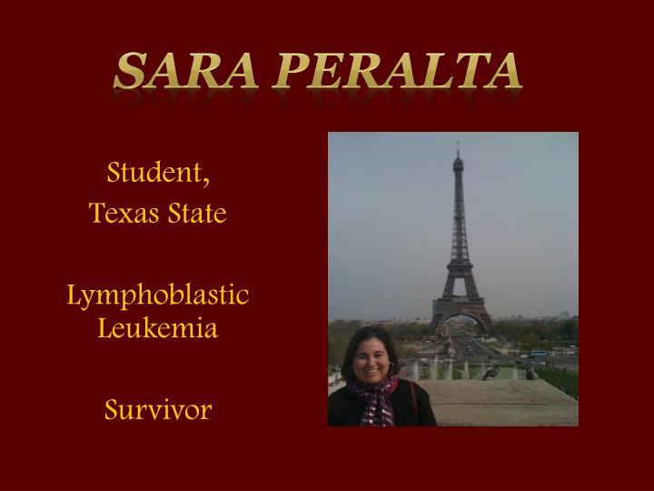 Sara Peralta