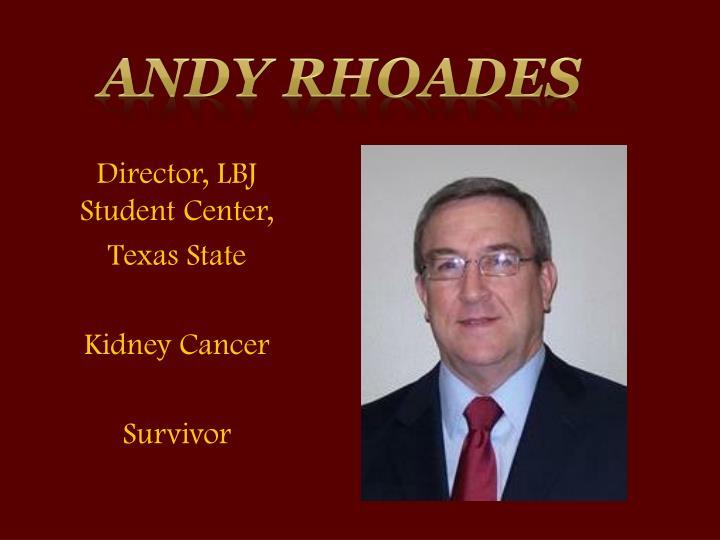 Andy Rhoades