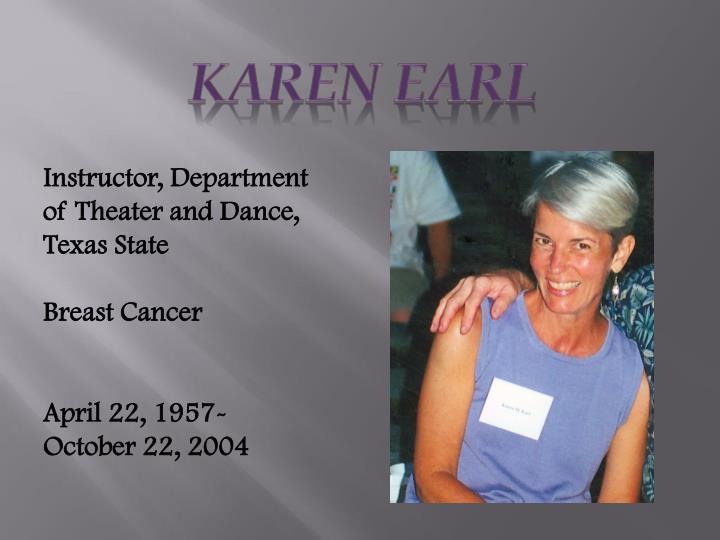 Karen Earl