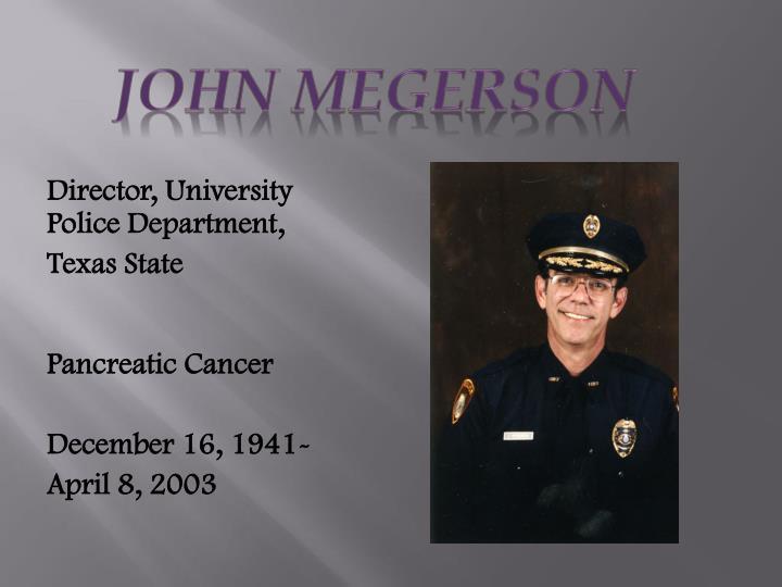 John Megerson