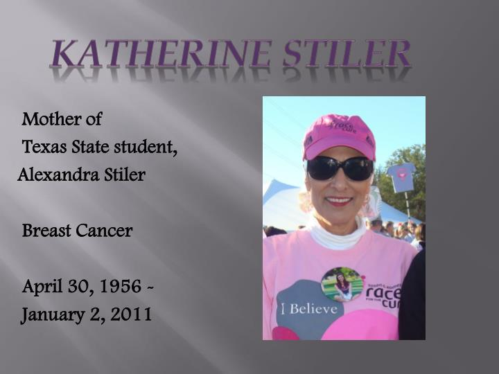 Katherine Stiler