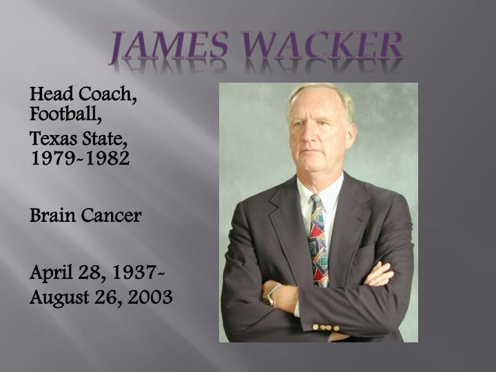 JAMES Wacker