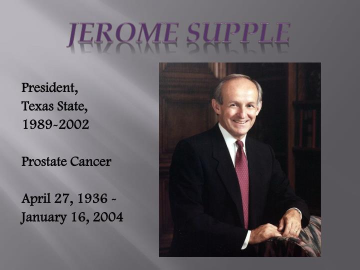 Jerome Supple