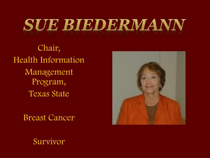 Sue Biedermann