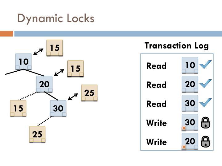 Dynamic Locks