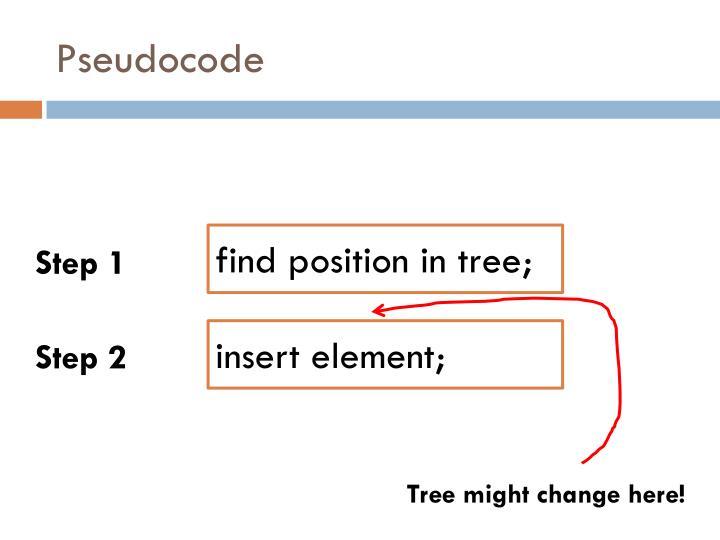 Pseudocode