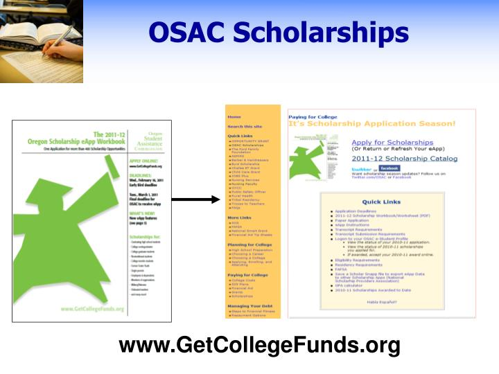OSAC Scholarships