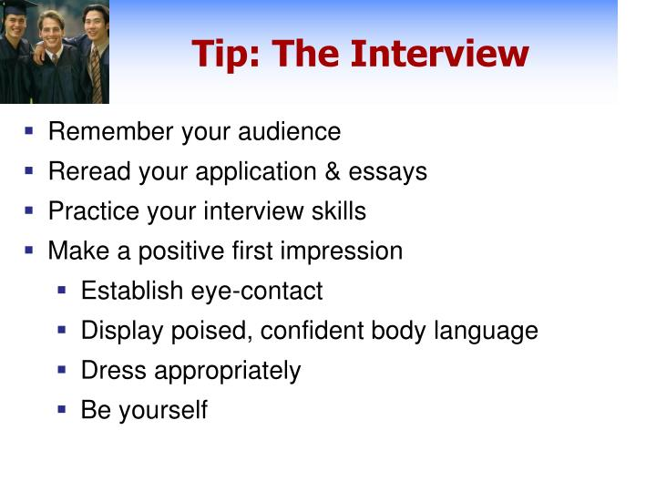 Tip: The Interview