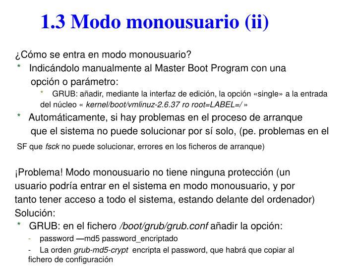 1.3 Modo