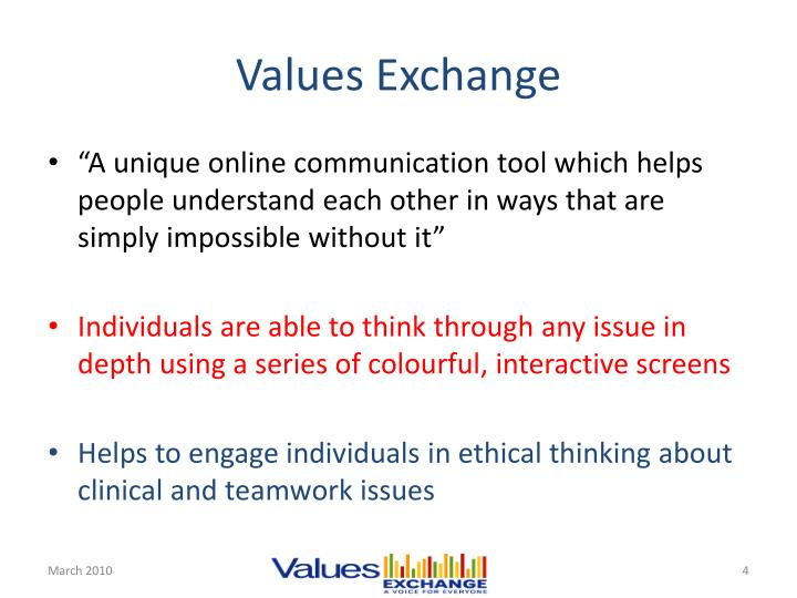 Values Exchange