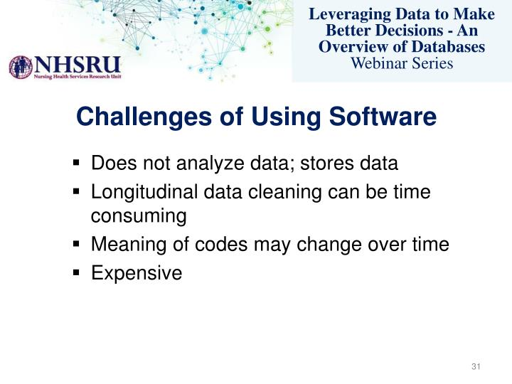 Challenges of Using Software