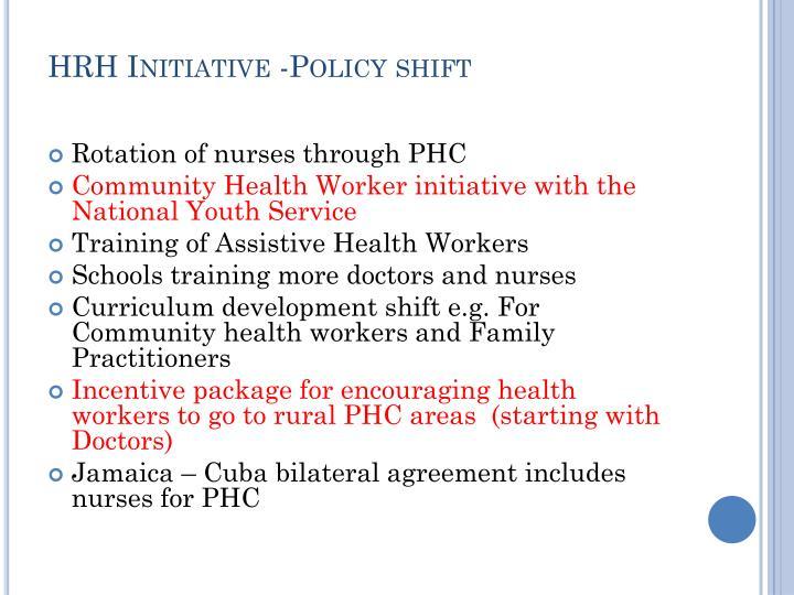 HRH Initiative -