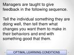 optimal learning conditions5