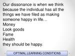 optimal learning conditions88