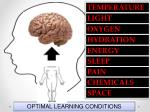 optimal learning conditions92
