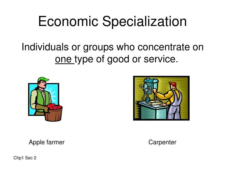 Economic Specialization
