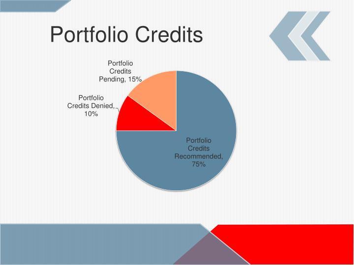Portfolio Credits