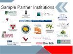 sample partner institutions