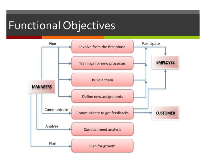 Functional Objectives