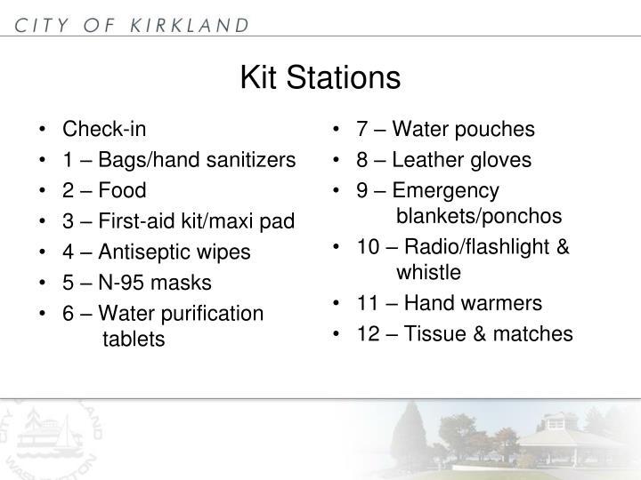 Kit Stations