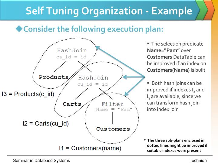 Self Tuning Organization - Example