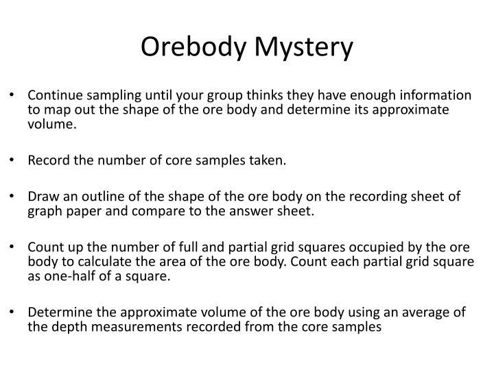 Orebody