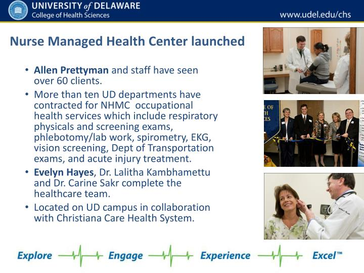 Nurse Managed Health Center launched